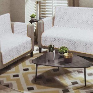 Furniture Protector or Sofa Cover Complete 3pc Set